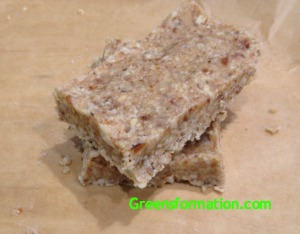 Coconut, Date, and Nut Bars