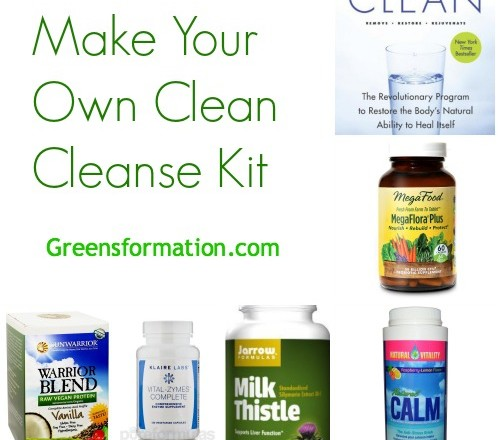 Make Your Own Clean Cleanse Kit